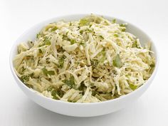 The new slaw.  The only slaw.  Grated celery root with Dijon and sour cream.  Gimme gimme gimme.  GIMME!
