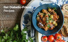 Get Diabetic-Friendly Recipes.  #diabeticrecipes #diabetic #whattoeatwhenyouareadiabetic