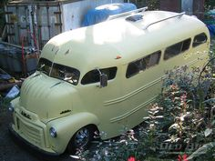 1953 GMC, Hotrod, COE, Cabover School Bus Project!!  If you're going to drive there, get there with your 'Kool' intact!