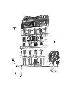 XOXO Paris Posters por Jessica Durrant na AllPosters.com.br