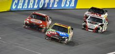 Many times this season Kyle Busch has entered a NASCAR Sprint Cup Series race with high hopes, only to have bad luck knock him from contention. It was the same story but with a different ending in the Bank of America 500 Saturday night at Charlotte (N.C.) Motor Speedway.