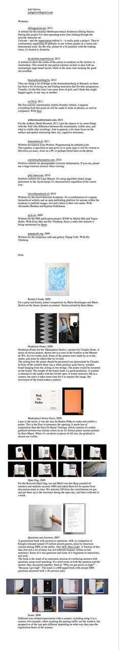 joelgalvez.com - Design by Joel Galvez. Captured March 2013. Portfolio Site, March 2013, First Page, Web Design, Design Web, Website Designs, Site Design