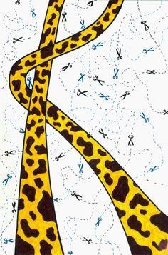 Girafas + Tesouras