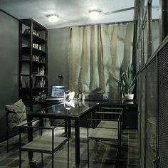 Extreme Industrial Style Studio Apartment