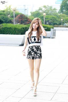 T-ara HyoMin Nice Body
