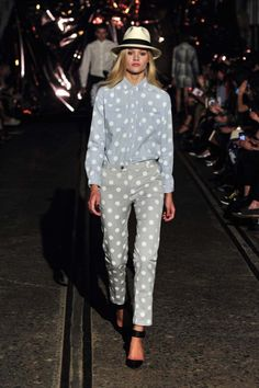 Spring 2014 Inspiration! You will see a lot of polka dots in Whitney Eve Spring 14.