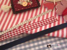 dulces pilukas: Idea para hacer una cinta decorada