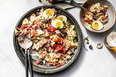 Farfalle Pasta, Paella, Barbecue, Nom Nom, Healthy Recipes, Healthy Food, Favorite Recipes, Ethnic Recipes, Mayonaise