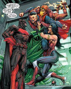 only in comics: Photo Marvel Dc Comics, Dc Comics Heroes, Dc Comics Characters, Dc Comics Art, Fun Comics, Cosmic Comics, Justice League, Comic Books Art, Comic Art
