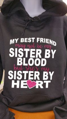 53 Ideas Birthday Gifts For Best Friend Awesome Bff Bff Shirts, Best Friend T Shirts, Best Friend Outfits, Shirts With Sayings, Cute Shirts, Funny Shirts, Best Friend Sweatshirts, Birthday Quotes For Best Friend, Best Friend Quotes