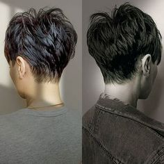 Hinterkopf kurze haare damen kurze haare