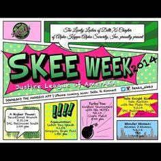 AKA week flyer (Delta Xi Chapter, University of Texas at Austin)