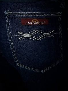 Jordache jeans from the 80's.  We all had to have these and we tight rolled them at the bottom!