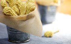 Cheese sticks. Sweet onion, lemon juice, garlic, sea salt, cashews, nutritional yeast (Braggs), dill