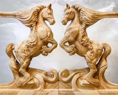 horses in olivian-ash made by Jop van Driel more info: info@trapart.nl