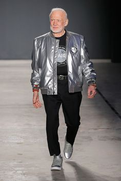 Bill Nye the Science Guy and Buzz Aldrin Walked at Men's Fashion Week // Nick Graham Fall 2017