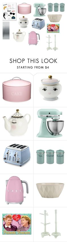 """""""Untitled #2112"""" by aliciabadrick ❤ liked on Polyvore featuring interior, interiors, interior design, home, home decor, interior decorating, Garance Doré, Kitchen Craft, Miss Étoile and KitchenAid"""