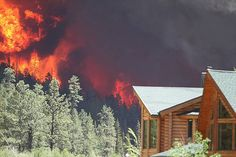 More on the Wildland Urban Interface - A house threatened by a forest fire in central Oregon Timber Falls, Oregon Forest, Forest Resources, Climate Warming, Tongass National Forest, Front Range, Land Use, Replant