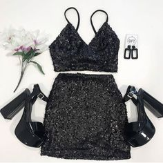 Bar Outfits, Night Outfits, Skirt Outfits, Stylish Outfits, Cool Outfits, Outfits For Teens, Vegas Outfits, 21st Birthday Outfits, Birthday Dresses