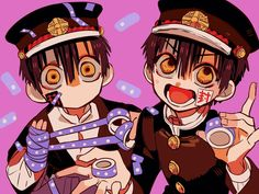 Hanako-kun x reader oneshots - Hanako x reader x tsukasa Otaku Anime, Manga Anime, Anime Art, Toilet Boys, Hanako San, Yugi, Familia Anime, Anime Kawaii, Manga Art