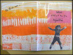 Du fil et mon cartable : Décoration cahier de vie