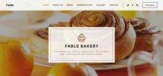 Fable is a modern, bootstrap based HTML template, designed for food, bakery, cafe, pub & restaurant websites.  Compatible BrowsersIE9, IE10, IE11, Firefox, Safari, Opera, Chrome, Edge Compatible WithBootstrap 3.x ThemeForest Files IncludedPHP Files, HTML Files, CSS Files, JS Files