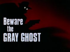 Batman The Animated Series opening title. Episode 18. Beware The Gray Ghost.