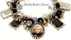 Hey, I found this really awesome Etsy listing at https://www.etsy.com/listing/152680413/marilyn-monroe-quotes-charm-bracelet-in
