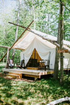 Every Glamping Spot That Needs to Be on Your Radar for 2019 Camping Glamping, Luxury Camping, Glam Camping, Outdoor Camping, Glass Cabin, Cabana, Luxury Tents, Pergola, Camping Guide