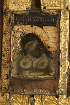 სვანეთის მუზეუმი – ხატები; Svaneti Museum -Icons   ბურუსი - BURUSI Byzantine Art, Byzantine Icons, Early Christian, Christian Art, Life Of Christ, Jesus Christ, Religious Icons, Orthodox Icons, Illuminated Manuscript