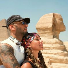 Alicia Keys and Swizz Beatz in Egypt Black Couples, Cute Couples, Power Couples, Thing 1, Toni Braxton, Oprah Winfrey, Celebrity Couples, Celebrity Babies, Michelle Obama