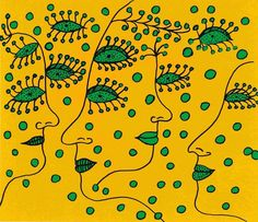 Yayoi Kusama - Women Wishing for Peace, 2011