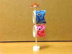 こいのぼりをトイレットペーパー芯で簡単工作!幼稚園の幼児と手作り! | コタローの日常喫茶