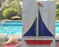 Handmade Mermaid with Rope Beach Pallet Art Coastal Decor Rope Art Mermaid Art Pallet Art Mermaid Coastal Decor Nautical Art Rope Crafts, Beach Crafts, Pallet Art, Diy Pallet Projects, Pallet Ideas, Starfish Art, Lighthouse Art, Rope Art, Nautical Art