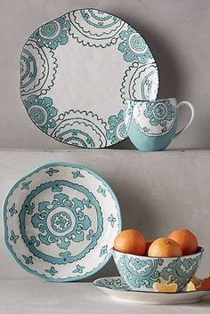 Gloriosa Dinnerware:  Gloriosa Mug $12 ~ Gloriosa Side Plate $14 ~ Gloriosa Dinner Plate $22.00 ~ Gloriosa Cereal Bowl $14 ~