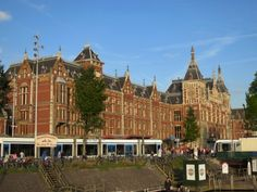 Getting there          (Amsterdam Centraal Station)