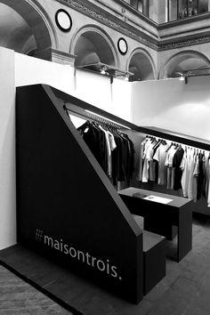 Maisontrois exhibition stand by Nicolas Dorval Bory Architect, Paris exhibit design