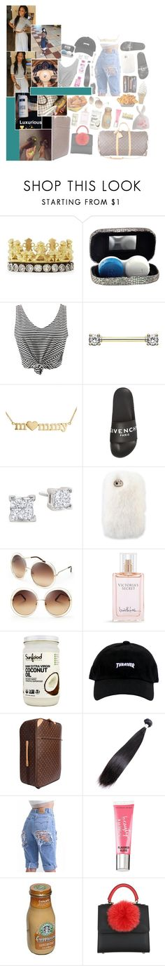 """I go insαne, crαzy sometimes trying to keep you from losing your mind. Open your eyes see whαts in front of your fαce, sαve me my fistful of teαrs"" by t-eyana ❤ liked on Polyvore featuring Armenta, Mercedes-Benz, WithChic, Jennifer Meyer Jewelry, Givenchy, Louis Vuitton, Chloé, Victoria's Secret, Junk Food Clothing and Beauty Rush"