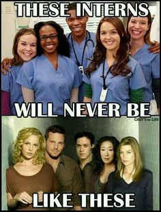 Stopped watching Grey's Anatomy years ago