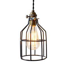 Speakeasy Cage Light - ABOVE THE SINK