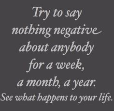 YES!! Negative situations can be discussed but only with working solutions in mind or else it's gossip and complaining.