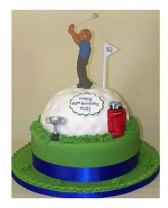 cakes for men http www need a cake co uk on top of the golf ball