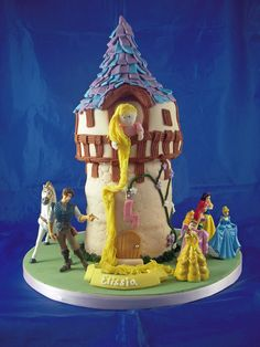 Tangled Cake (by Lily Pad Bakery)