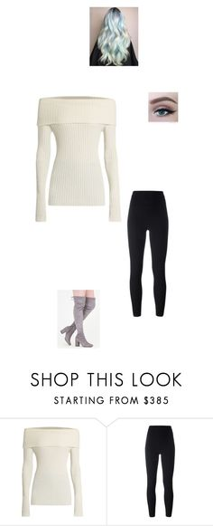 """Honey Asks You Out"" by maryvarleyrox ❤ liked on Polyvore featuring The Row and adidas Originals"
