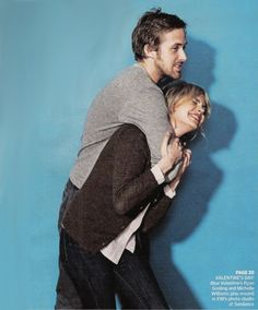 Ryan Gosling and Michelle Williams from Blue Valentine <3