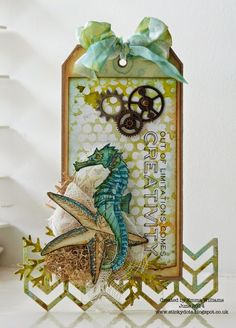 That's Life: Creativity... Tim Holtz's 12 Tags of 2014