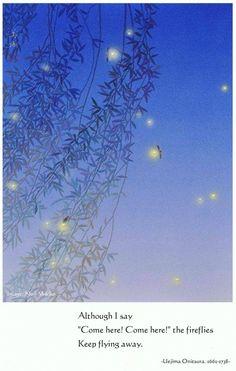 Beautiful Poetry, Beautiful Birds, Keep Flies Away, Japanese Haiku, Zen Quotes, Art Academy, Japanese Prints, Mood Pics, Art Studies