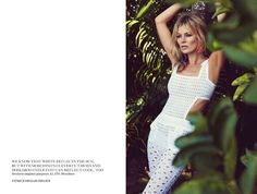 """Sparkly Fashion: Sparkly Editorial: Vogue UK June """"Sail Away"""", Kate Moss"""