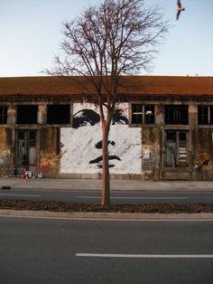 EIME – Transparency New Mural @ Viana do Castelo, Portugal