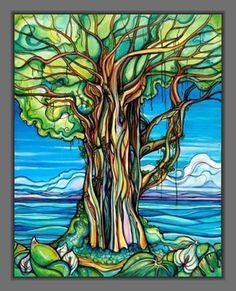 Enchanted Banyan-Aluminum Print – Colleen Wilcox Art